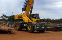 Crane Hire - Grove RT760E